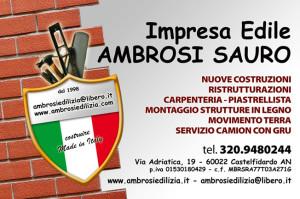 biglietto AMBROSI